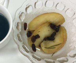リンゴのココナッツオイルソテー