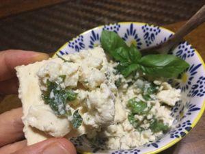 島豆腐のディップ