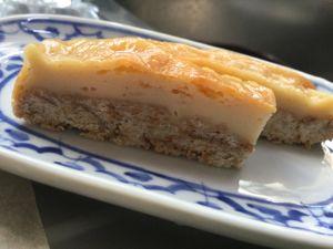 水切りヨーグルトのチーズケーキ風