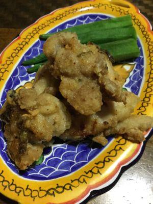 塩シークヮーサー&ピパーチ 鶏唐揚げ