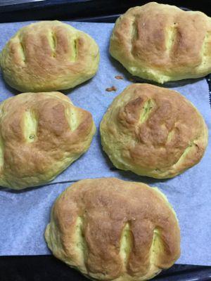 うっちんとキャラウェイのパン